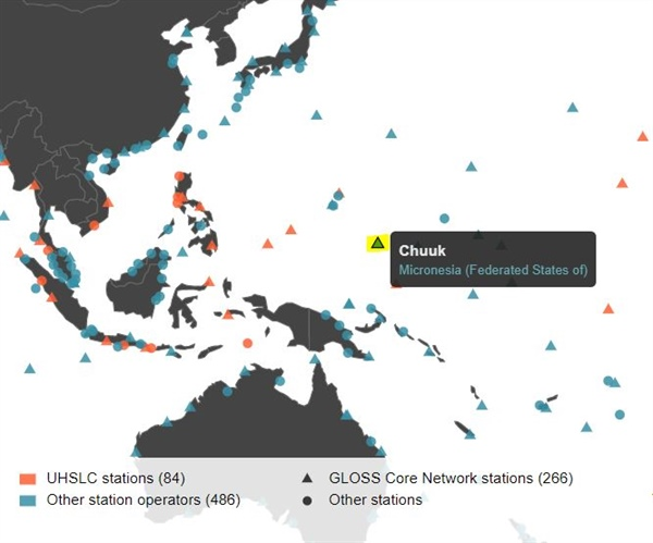 New Tide Gauge Station Built in Chuuk, Micronesia